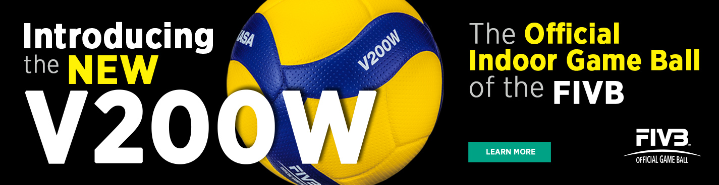 The New V200W Mikasa Ball