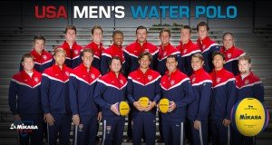 The USA Mens Water Polo Team