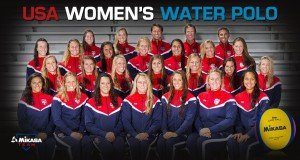 The USA Women's Water Polo Team