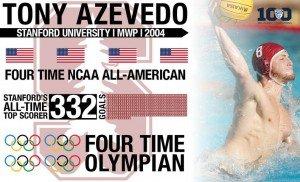 Tony Azevedo Pac-12 Water Plo Player of the Century