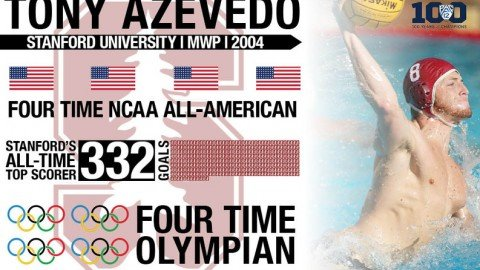Tony Azevedo Pac-12 Water Plo Player of the Century