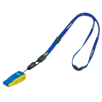 Beatmaster whistle - Navy Blue, Yellow