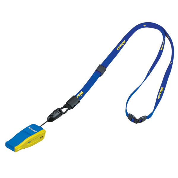 Beatmaster whistle - Navy Blue, Yellow