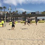 CA Footvolley Game Action