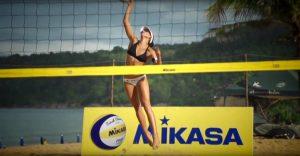 Marta jump serve